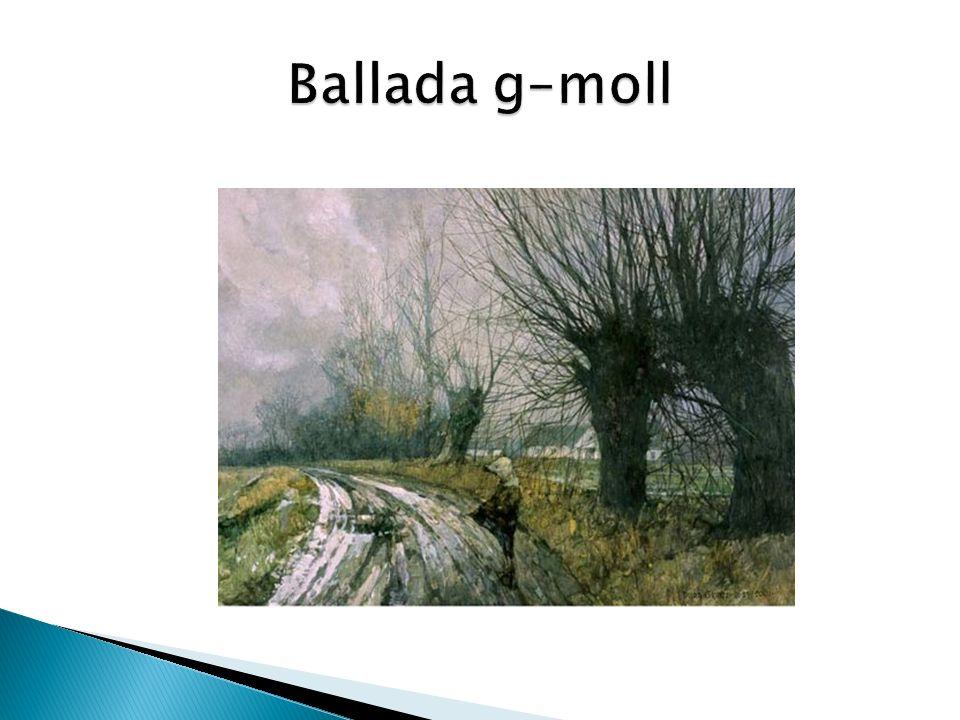 Ballada g–moll