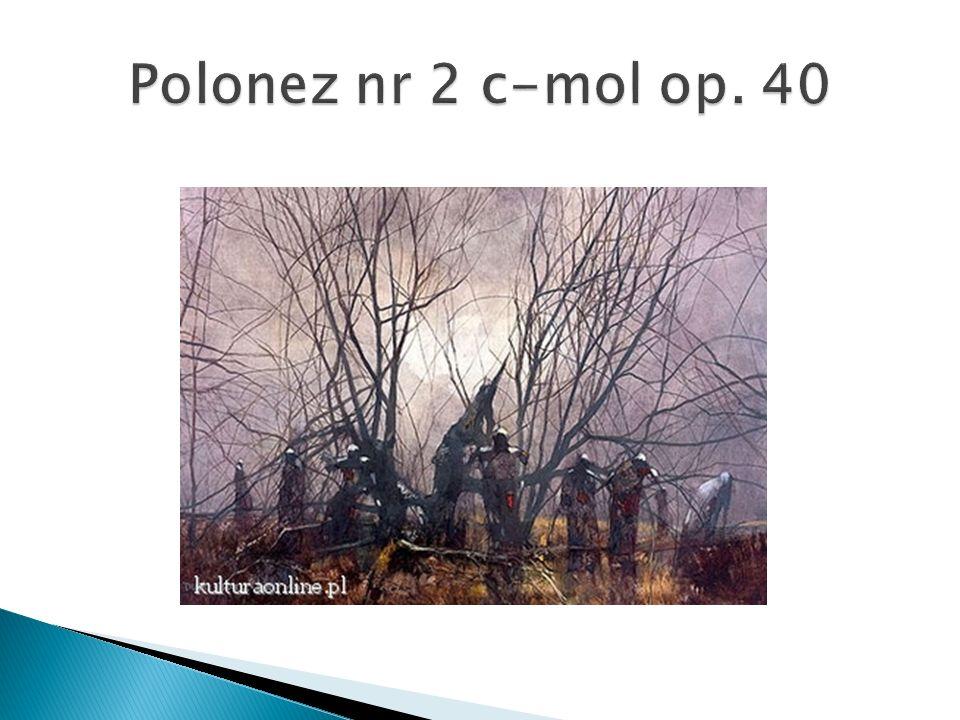 Polonez nr 2 c-mol op. 40