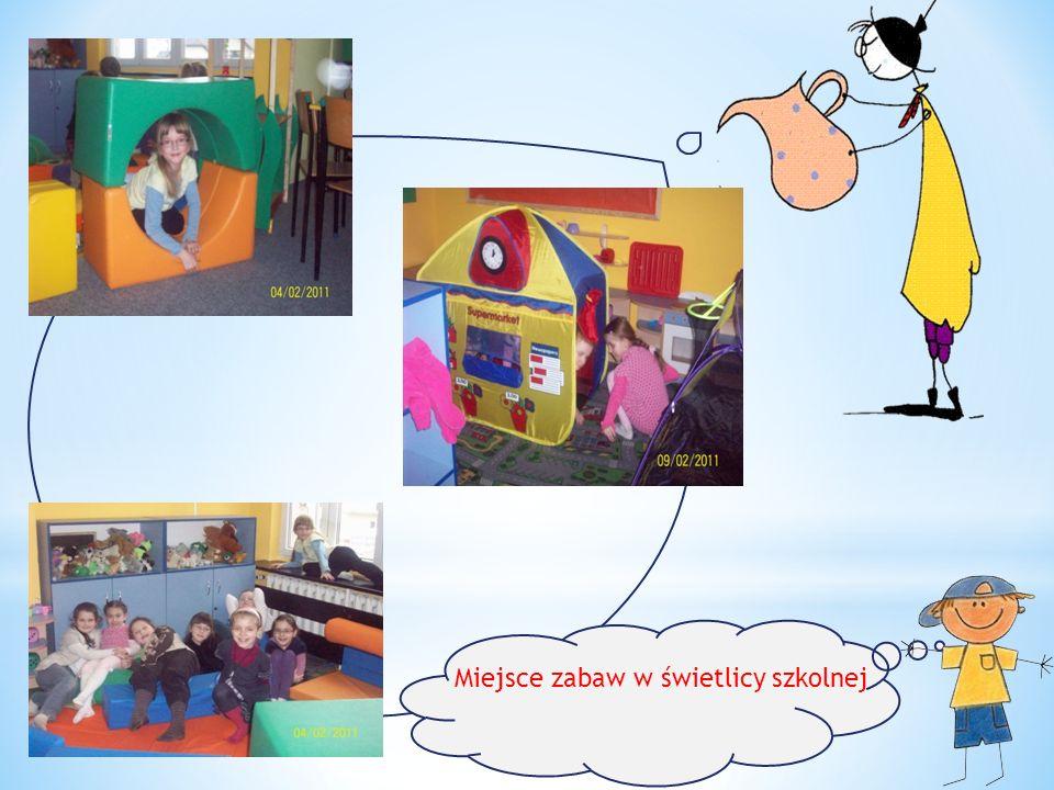 Miejsce zabaw w świetlicy szkolnej