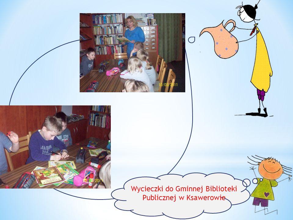Wycieczki do Gminnej Biblioteki Publicznej w Ksawerowie