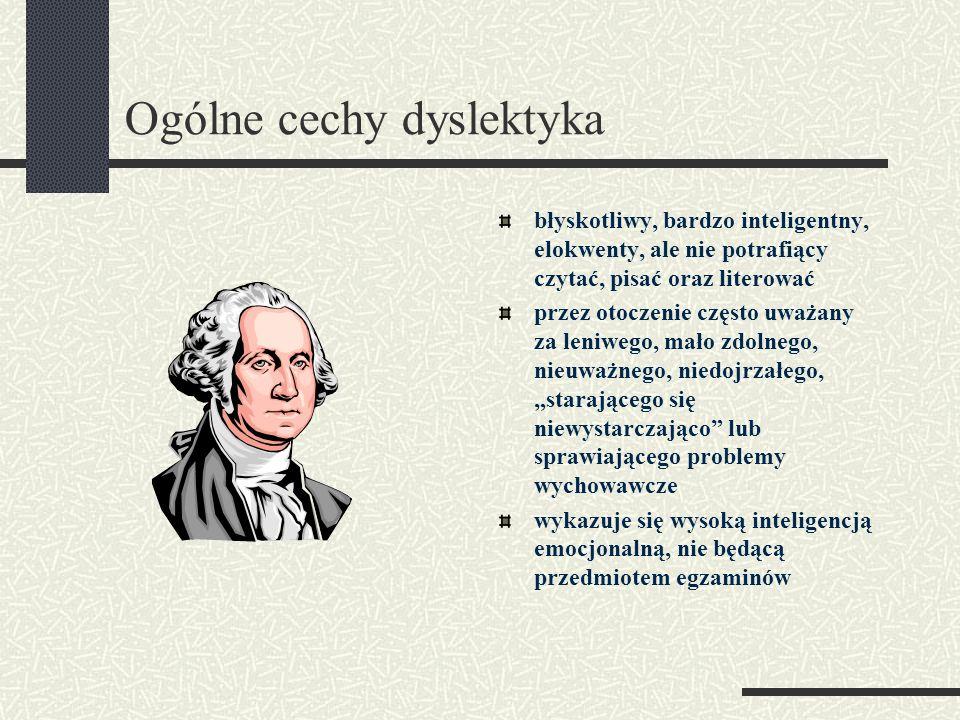 Ogólne cechy dyslektyka