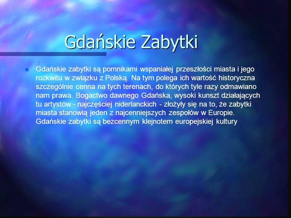 Gdańskie Zabytki