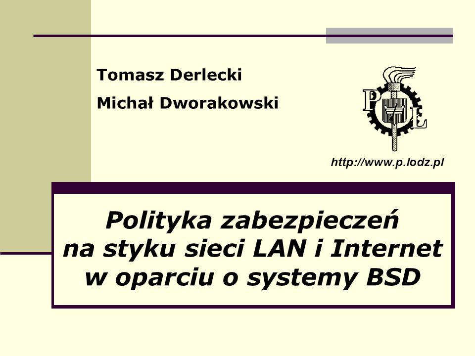 Tomasz Derlecki Michał Dworakowski. http://www.p.lodz.pl.