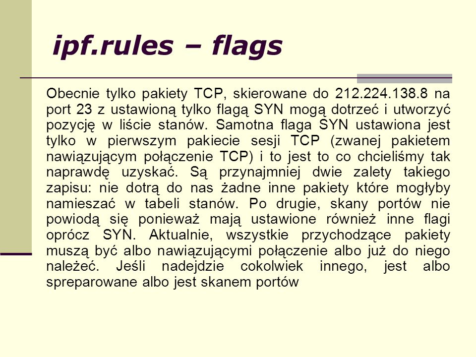 ipf.rules – flags