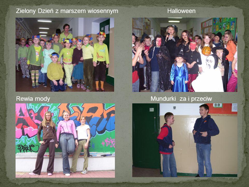 Zielony Dzień z marszem wiosennym Halloween