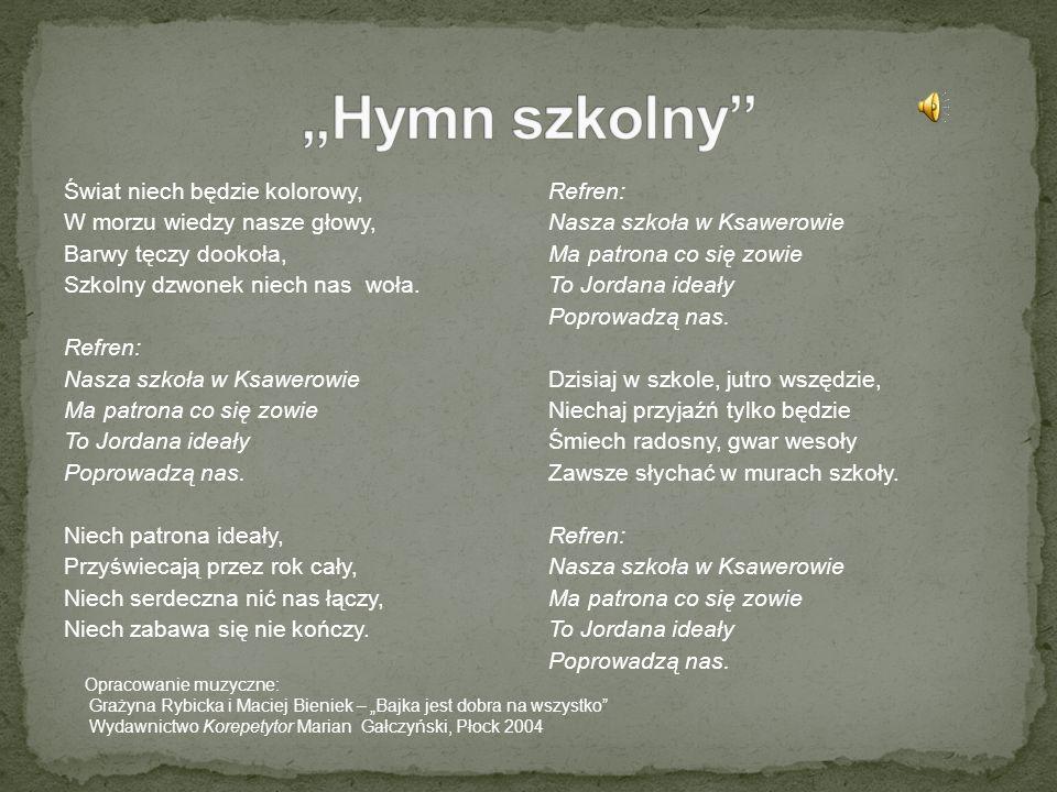 """""""Hymn szkolny"""