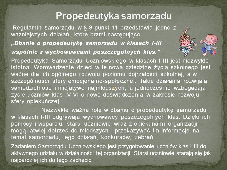 Propedeutyka samorządu