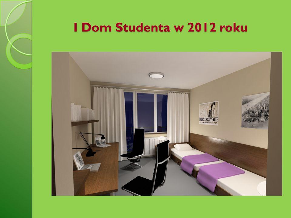 I Dom Studenta w 2012 roku