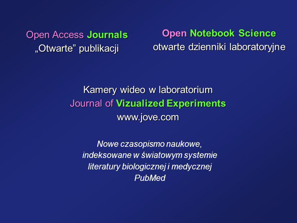 otwarte dzienniki laboratoryjne
