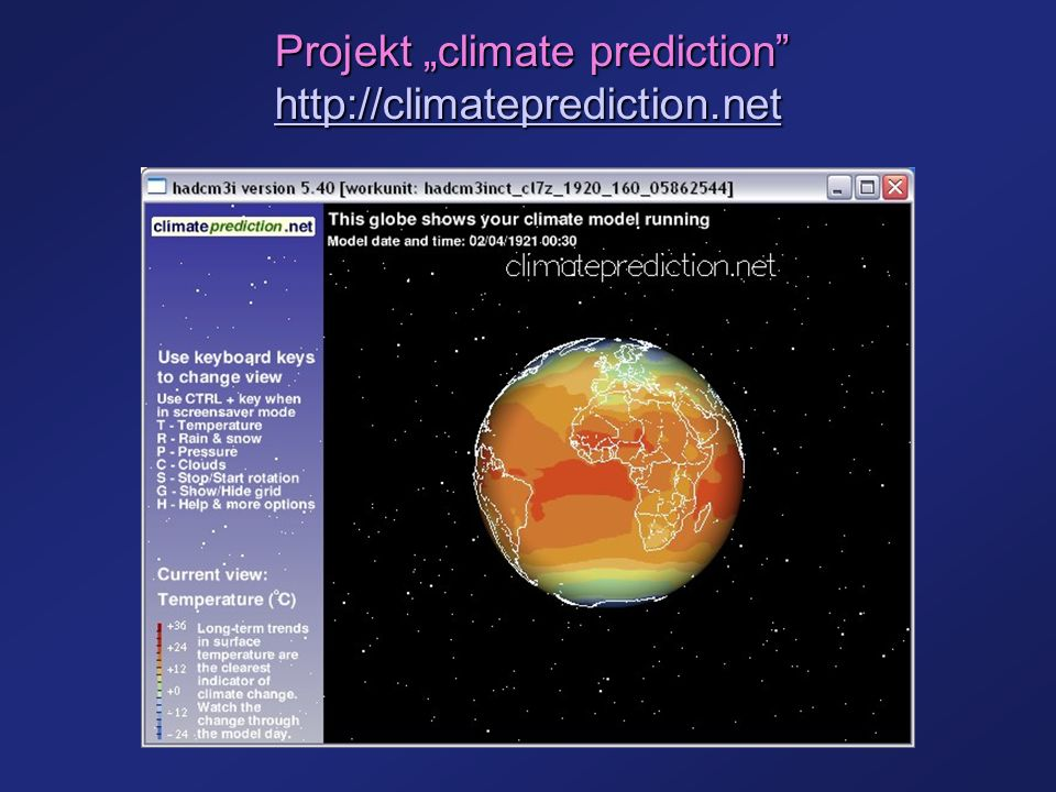 "Projekt ""climate prediction"