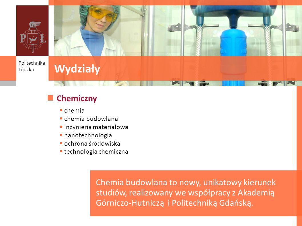 Wydziały Faculties Chemiczny