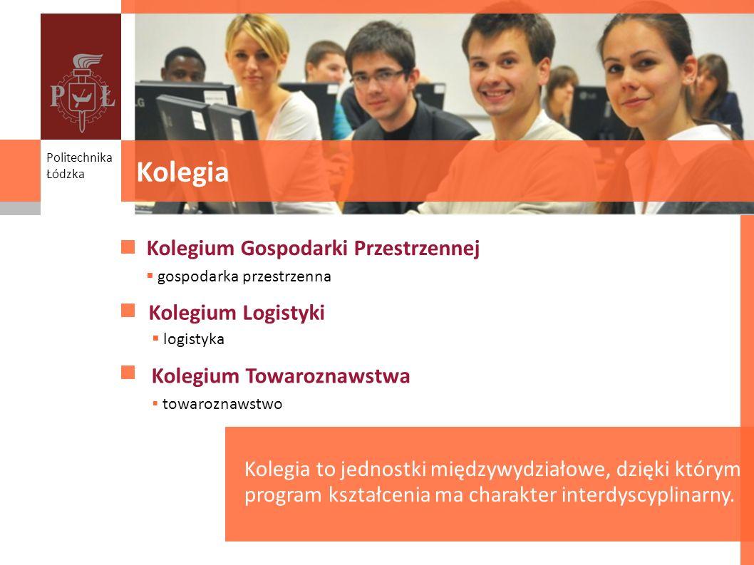 Kolegia Kolegium Gospodarki Przestrzennej Kolegium Logistyki