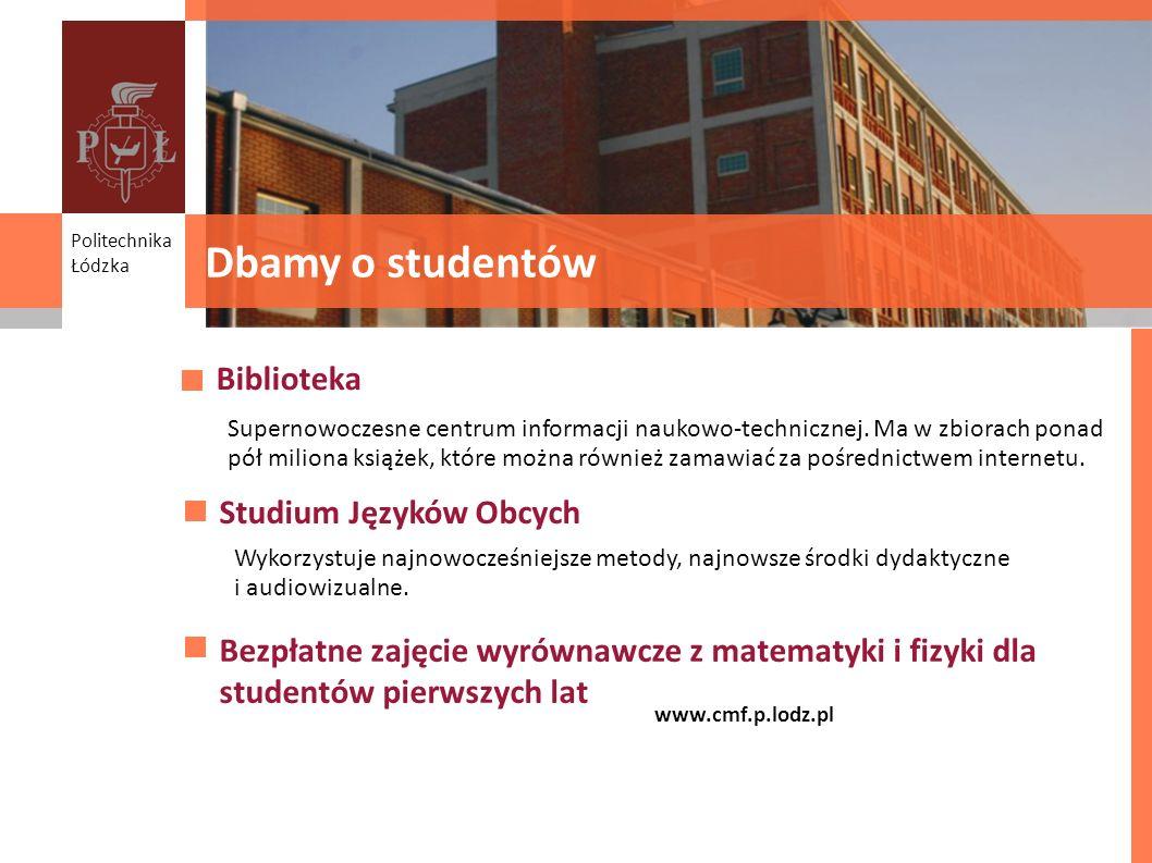 Dbamy o studentów Biblioteka Studium Języków Obcych