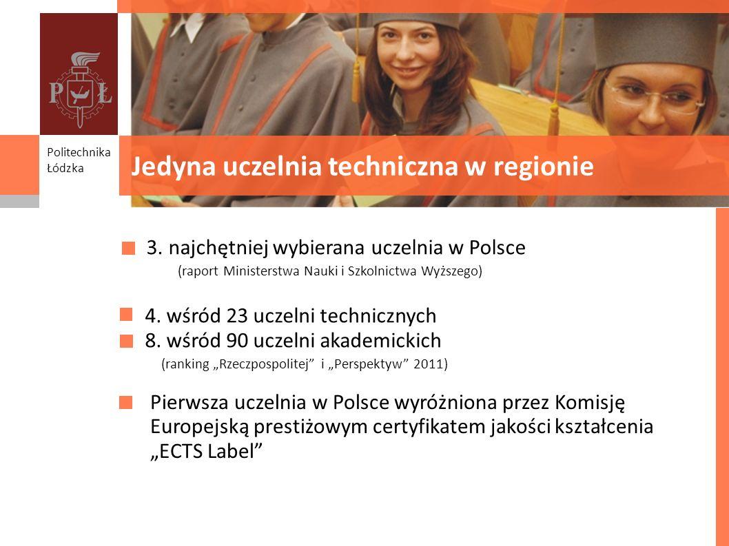 Jedyna uczelnia techniczna w regionie