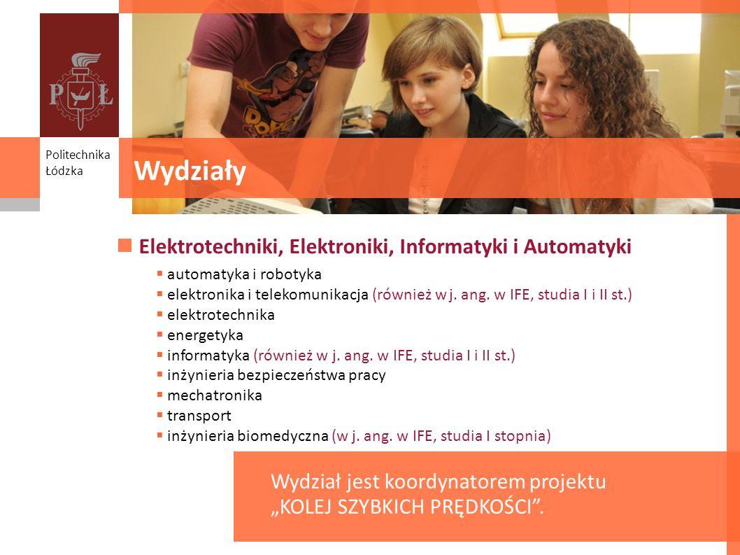 Wydziały Elektrotechniki, Elektroniki, Informatyki i Automatyki