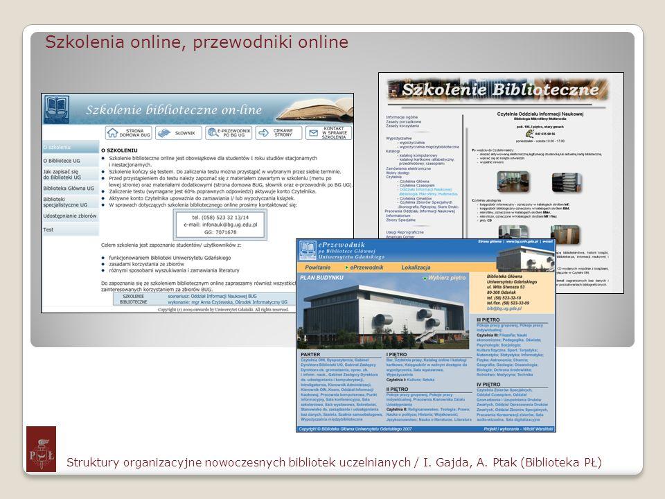 Szkolenia online, przewodniki online