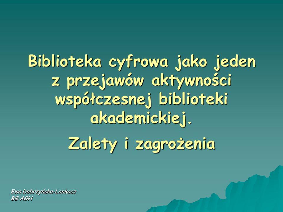 Ewa Dobrzyńska-Lankosz BG AGH