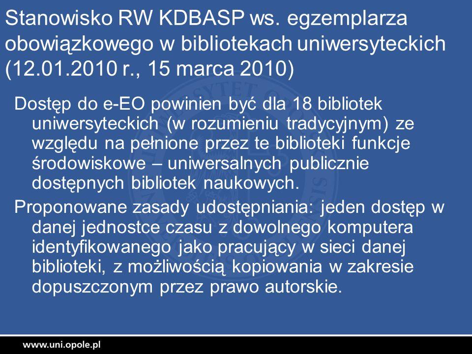 Stanowisko RW KDBASP ws