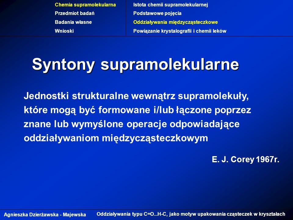Syntony supramolekularne