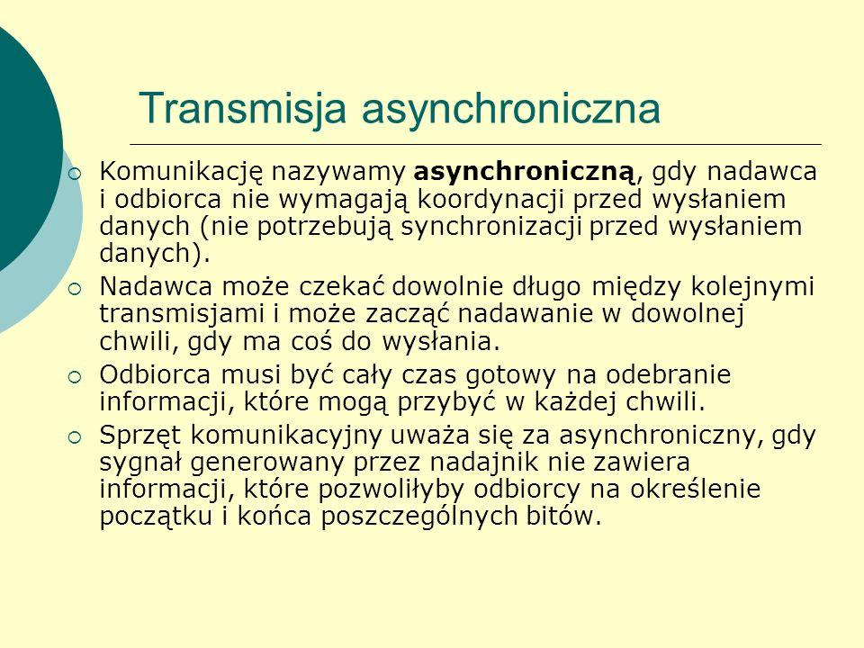 Transmisja asynchroniczna