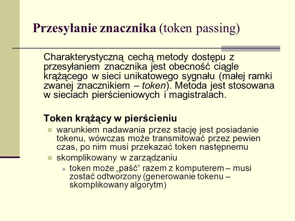 Przesyłanie znacznika (token passing)