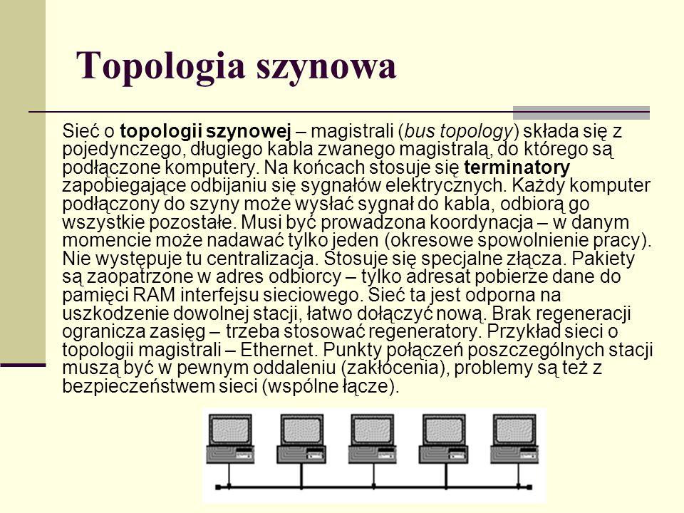 Topologia szynowa