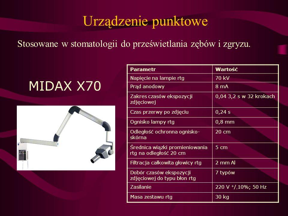 Urządzenie punktowe MIDAX X70