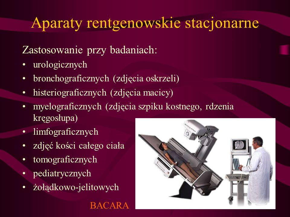 Aparaty rentgenowskie stacjonarne