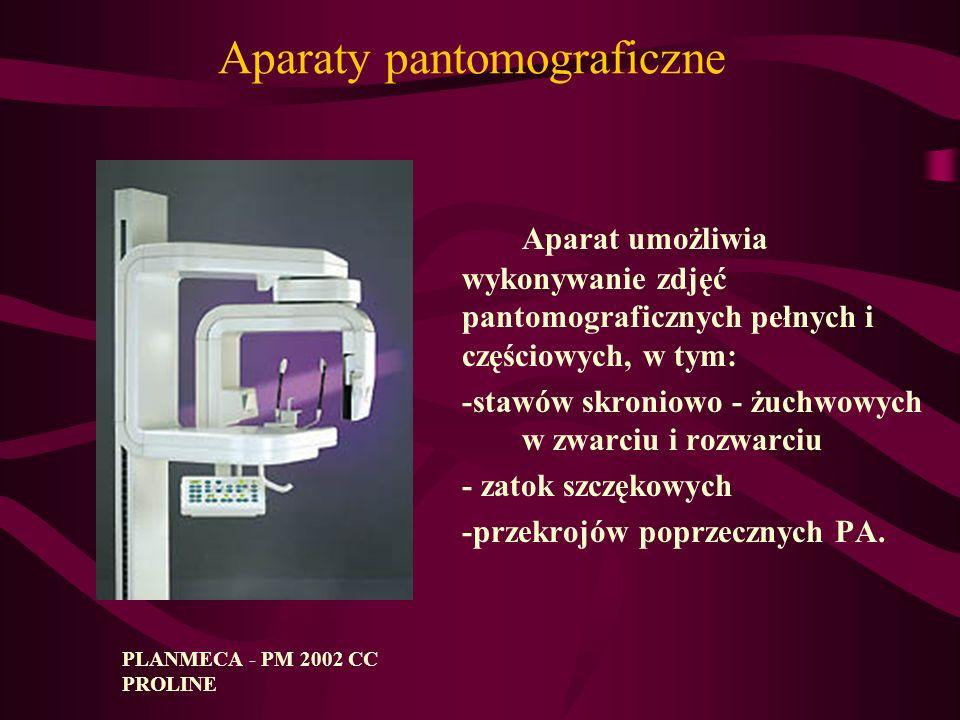 Aparaty pantomograficzne
