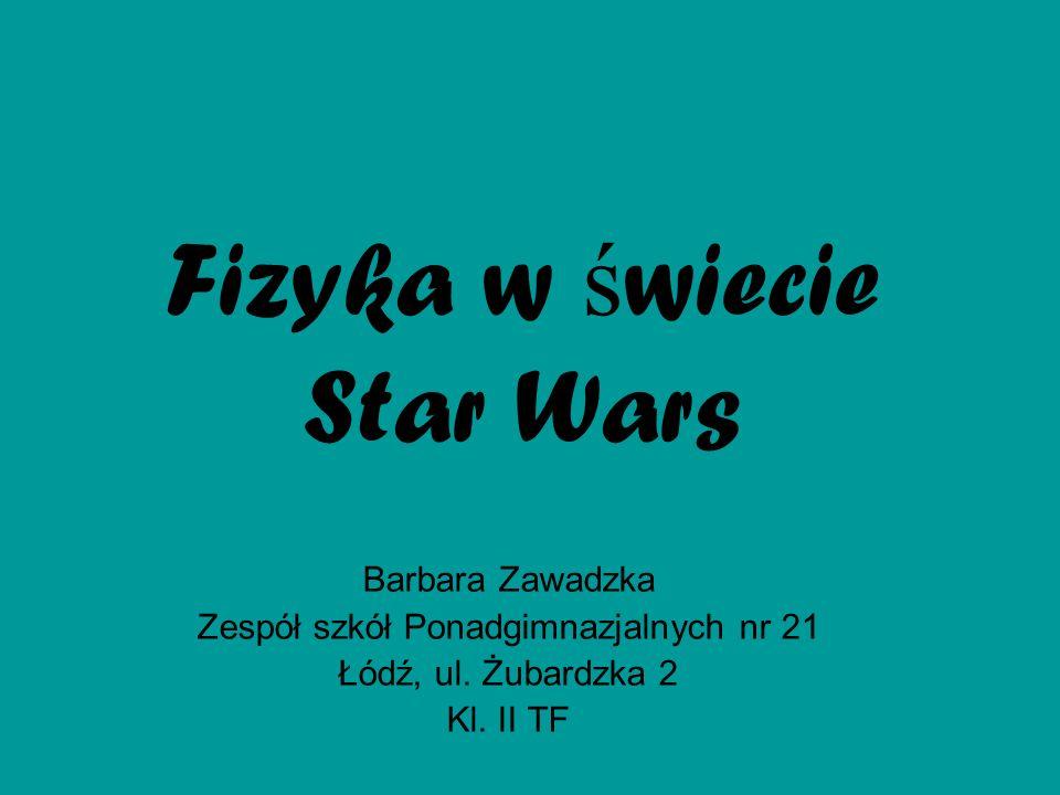 Fizyka w świecie Star Wars