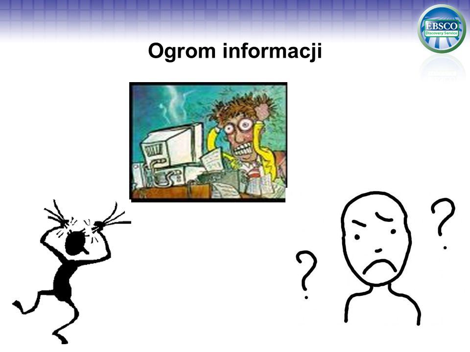 Ogrom informacji