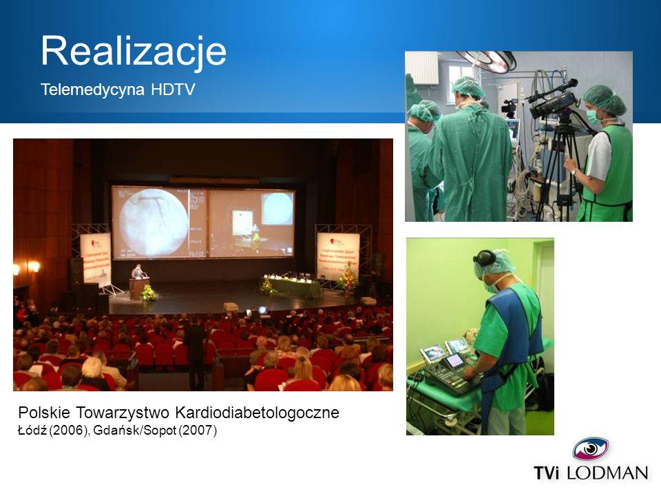 Realizacje Telemedycyna HDTV Polskie Towarzystwo Kardiodiabetologoczne
