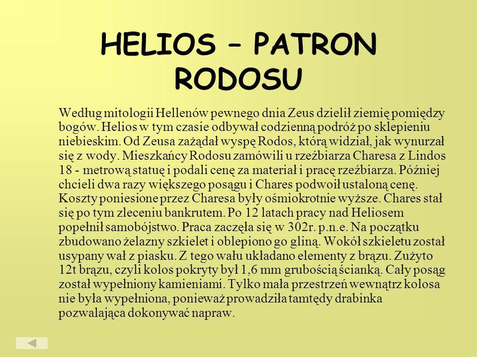HELIOS – PATRON RODOSU
