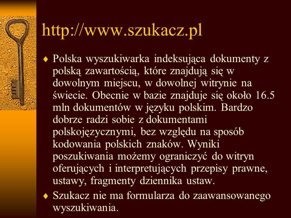 http://www.szukacz.pl