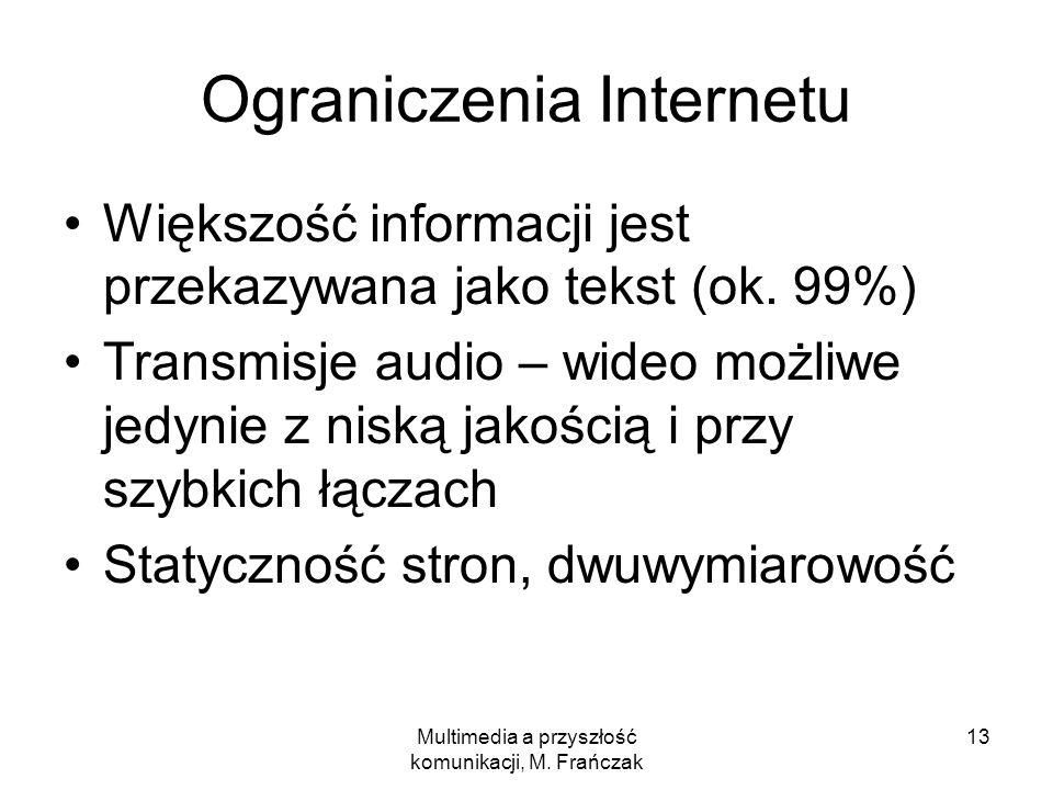 Ograniczenia Internetu