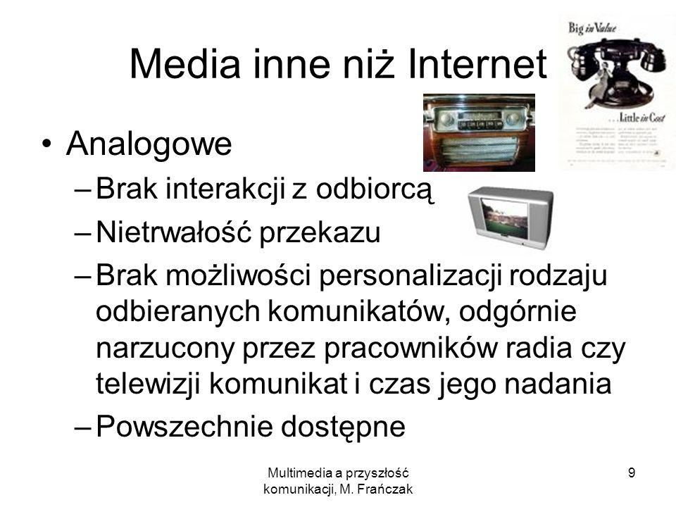 Media inne niż Internet