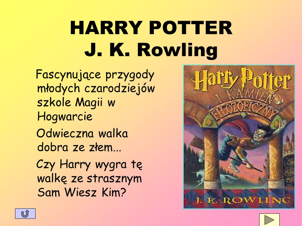 HARRY POTTER J. K. Rowling