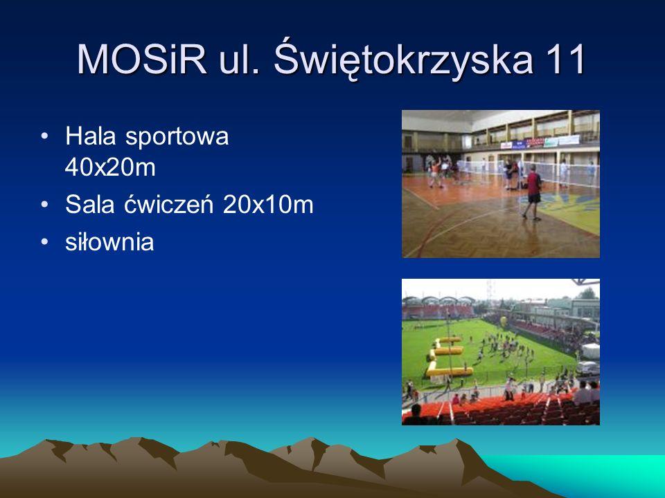 MOSiR ul. Świętokrzyska 11