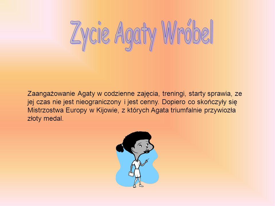 Zycie Agaty Wróbel
