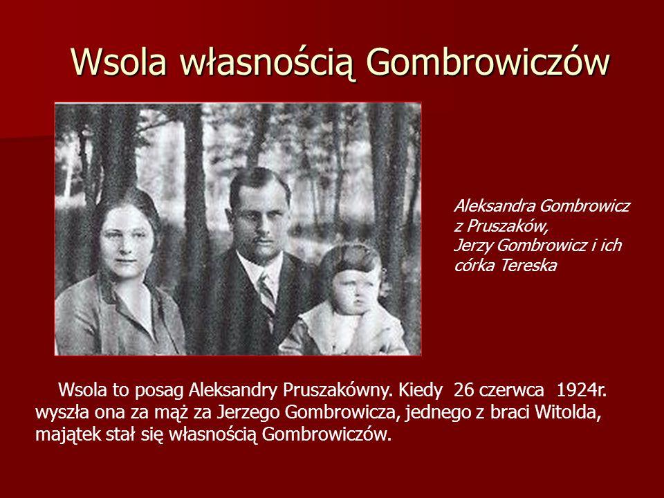 Wsola własnością Gombrowiczów