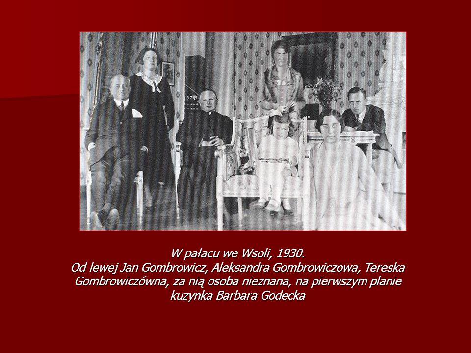 W pałacu we Wsoli, 1930.