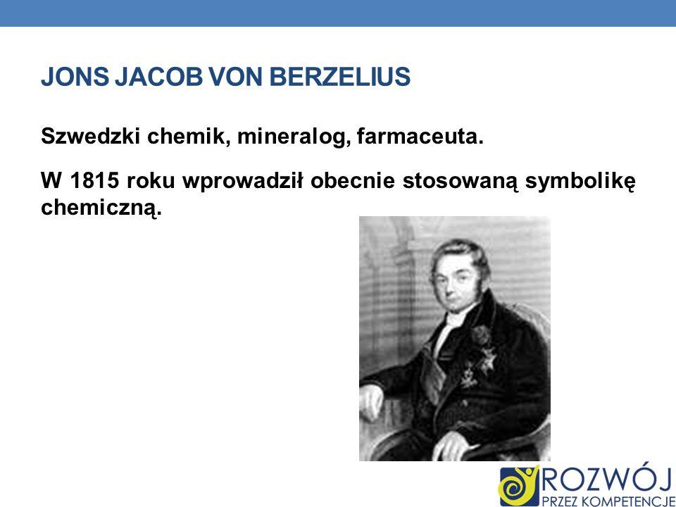Jons Jacob von Berzelius