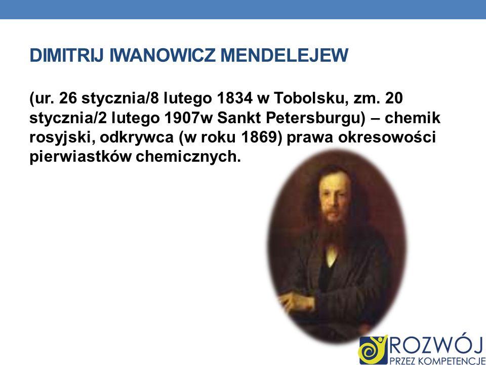 Dimitrij Iwanowicz Mendelejew