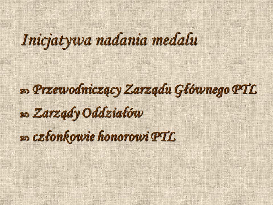 Inicjatywa nadania medalu