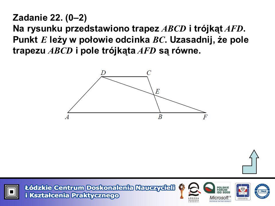 Zadanie 22. (0–2)