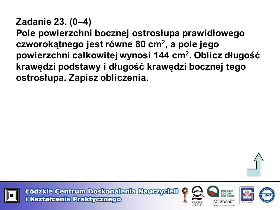 Zadanie 23. (0–4)