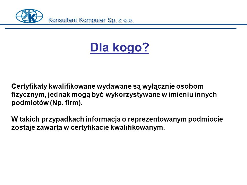 Konsultant Komputer Sp. z o.o.