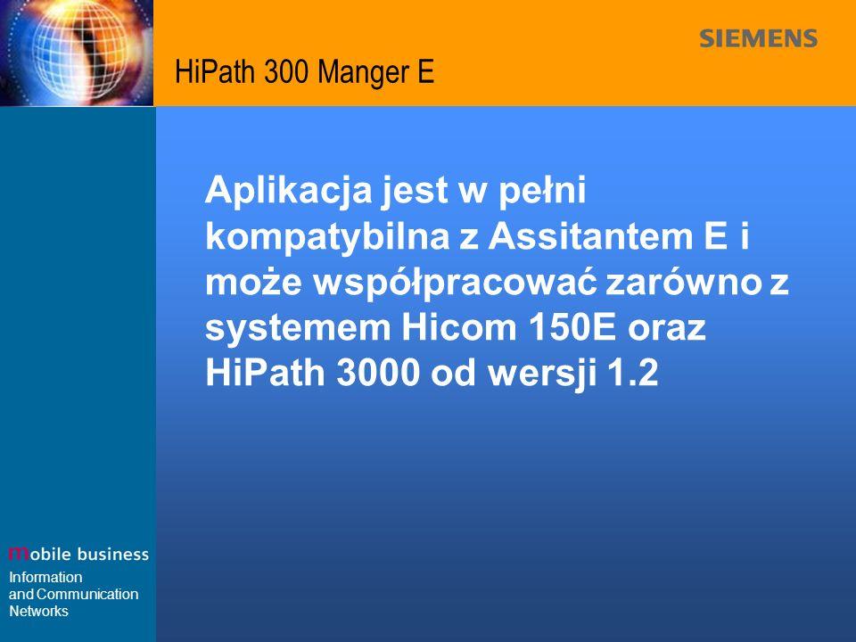 HiPath 300 Manger E