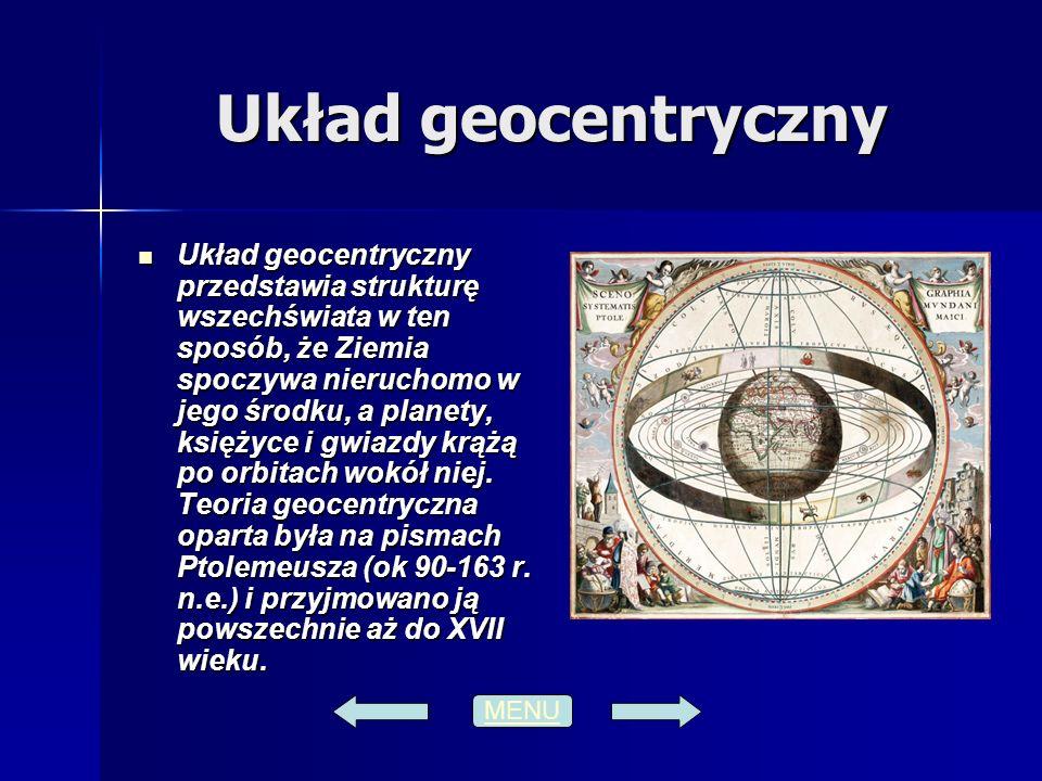 Układ geocentryczny