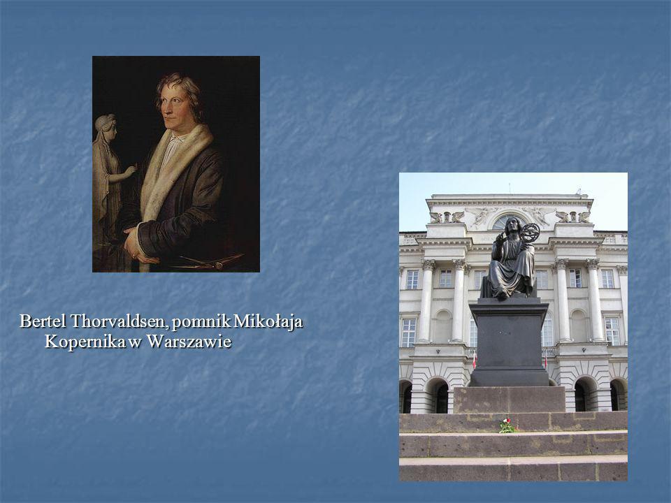 Bertel Thorvaldsen, pomnik Mikołaja Kopernika w Warszawie
